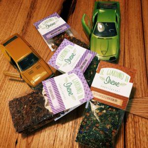 tè puri e aromatizzati